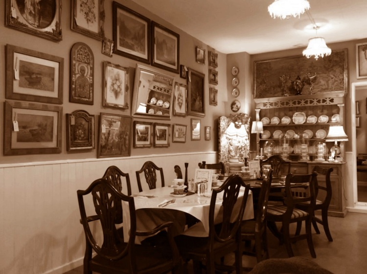 Inside Nostalgia tearooms 2