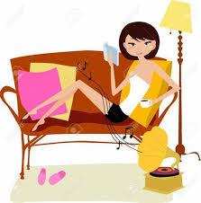 woman relaxing 2