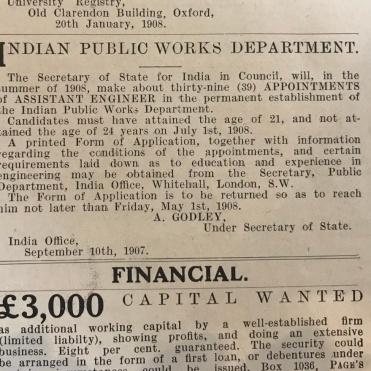 Indian Public Works
