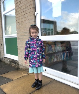 Scarlett new school coat