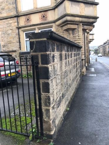Stone wall Otley