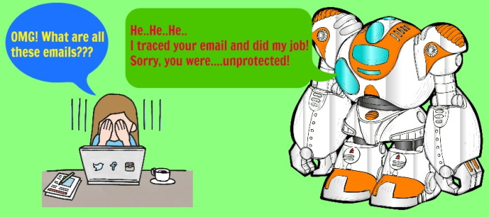 unprotected e-mail