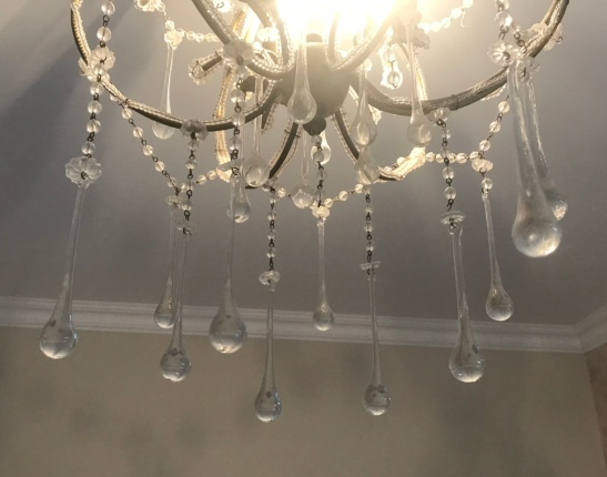 My bedroom chandelier cropped