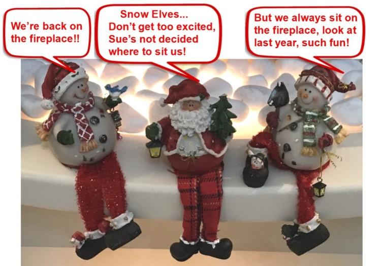 Snow Elves with speech