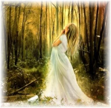 Woodland bride 2