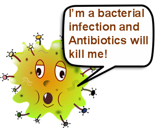 bacterial infection speech