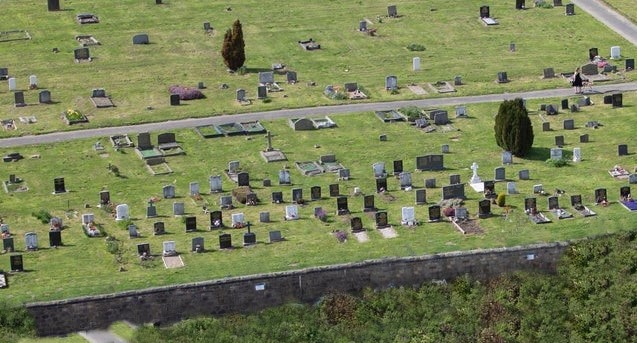 Copy of The cemetery at Yeadon 3