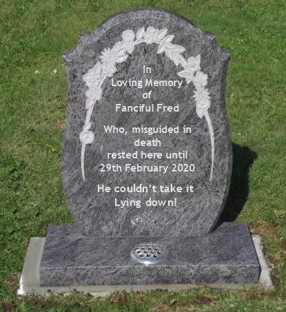 Fred's Grave