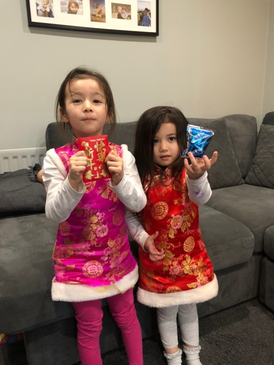 Scarlett and Lily-Jane Chinese New Year