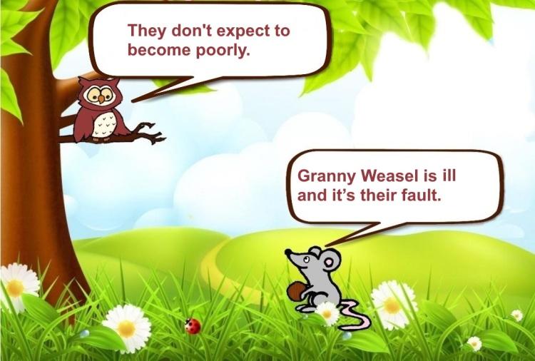 Weasels Socialise 7