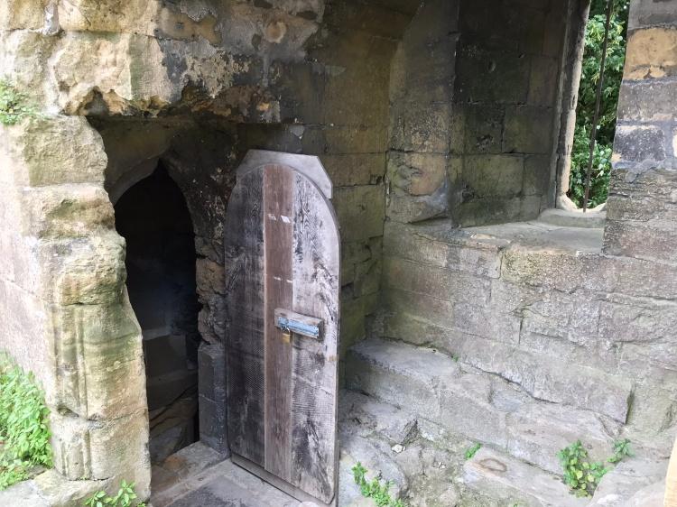 Knareborough Castle dungeon