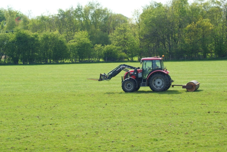Rolling My fields May