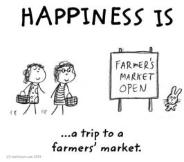 Happiness is Farmer's Market